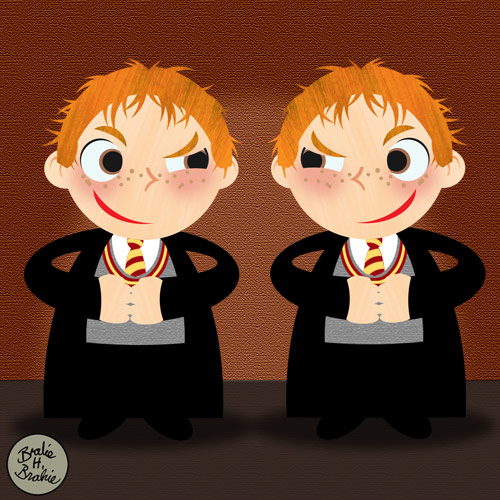 george and fred patronus